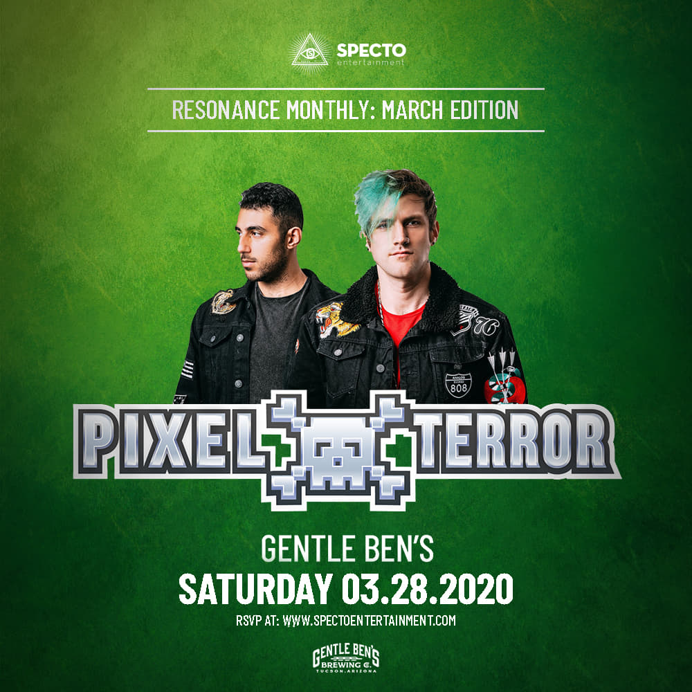 pixel terror arizona flyer